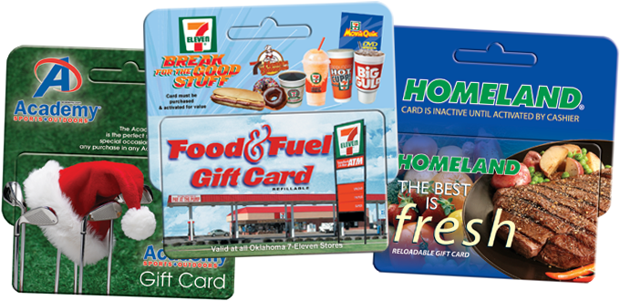 gift card hangars