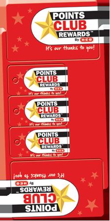 single card four plastic keytags